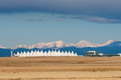 Denver International Airport Stock Photos