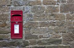 Post box tausta Kuvituskuvat