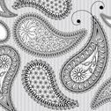 Stock Illustration of Paisley background