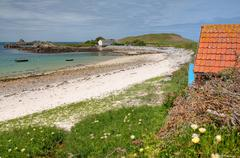 Stock Photo of bryher, isles of scilly