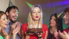 Happy Birthday To You Stock Footage