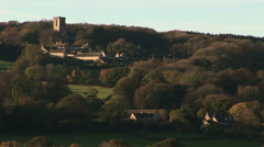 English country scene Stock Footage