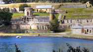Stock Video Footage of port arthur ruins