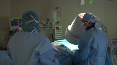 Cardiac Team 3 - stock footage