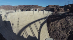 Hoover dam sunset Stock Footage