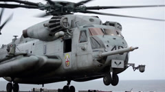 Sikorsky CH-53 Sea Stallion Stock Footage