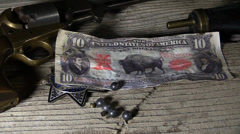 Cowboy old western Stock Footage