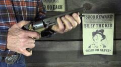 Cowboy, nimismies ja halusi juliste Arkistovideo