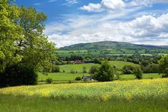 Rural shropshire Stock Photos