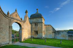 Stock Photo of the gatehouse at chipping campden