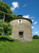 Stock Photo of stone dovecote