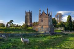 chipping campden, gloucestershire - stock photo