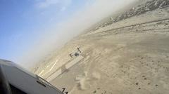 V22 Mv22 Osprey Helicopter Landing - stock footage