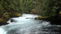 Rapid River McKenzie - stock photo