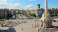 4K Timelapse: Independence square (Maidan Nezalezhnosti) in Kiev, Ukraine Footage