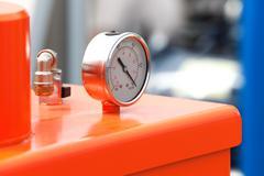 Manometer precise instrument pressure gauge Stock Photos