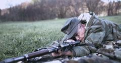 WW2 - German Soldier 2 - 53 Stock Footage