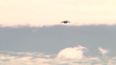 C-17 Globemaster Lands at Wheeler Army Airfield - stock footage