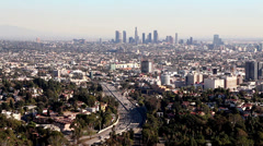 Stock Video Footage of los angeles 101 Freeway 2