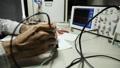 measurement signal oscilloscope Footage