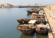 Stock Photo of sharjah - port