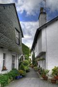 Cumbrian cottages Stock Photos