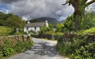Stock Photo of cottage at grasmere