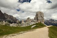 Stock Photo of Dolomites