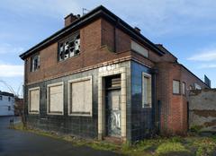 pub closure - stock photo