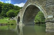 Stock Photo of dinham bridge, ludlow