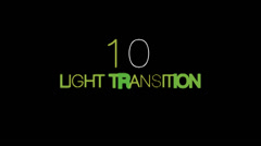 Stock After Effects of Flash Light Transition 10 Pack