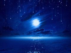 Stock Illustration of beautiful night