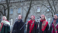 Stock Video Footage of Ukraine, Christmas holiday