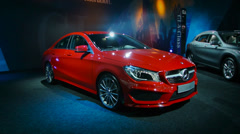 Mercedes Benz CLA Stock Footage