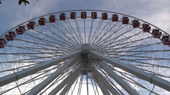 Navy Pier Ferris Wheel - timelapse Stock Footage