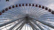 Stock Video Footage of Navy Pier Ferris Wheel - timelapse