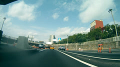 Queens Midtown Tunnel - Entering - stock footage