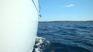 Stock Video Footage of Young adults enjoying a trip on sailing boat on the Adriatic sea in Croatia.
