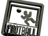 3d model of Sign, symbol of football