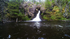 Natural waterfall Stock Footage