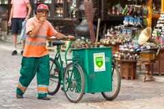 Waste collector Stock Photos