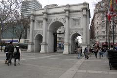 Marble Arch London - stock photo