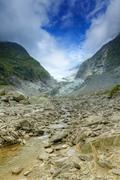 franz josef glacier - stock photo