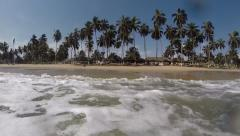 Beach in Ghana Stock Footage