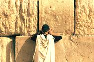 Stock Photo of Wailing Wall in Jerusalem
