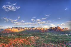 Arizona red rocks Stock Photos