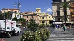 Sorrento on Amalfi coast - stock footage