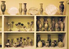 Stone and jewelry factory cappadocia turkey Stock Photos