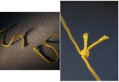Before and after, ropes Stock Photos