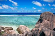 Stock Photo of anse source d'argent